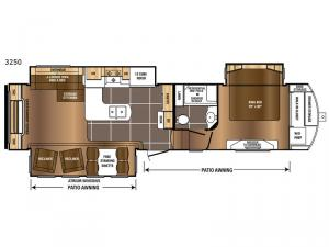 Sanibel 3250 Floorplan Image