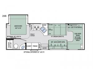Chateau 26B Chevy Floorplan Image