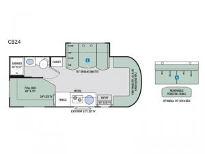Synergy CB24 Floorplan Image