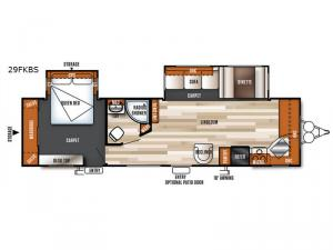 Salem 29FKBS Floorplan Image