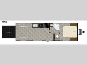 Trail Runner 26TH Floorplan Image