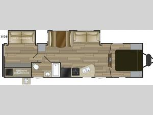 Radiance Ultra Lite 30DS Floorplan Image
