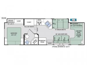 Four Winds 31W Floorplan Image