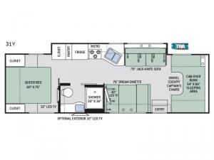 Four Winds 31Y Floorplan Image