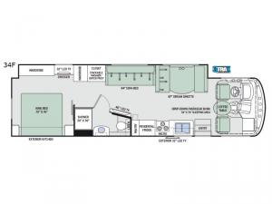 Windsport 34F Floorplan Image