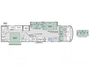 Windsport 35C Floorplan Image