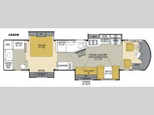 Sportscoach Cross Country RD 408DB Floorplan Image