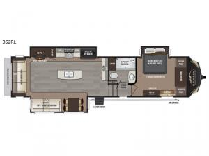 Montana High Country 352RL Floorplan Image