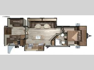 Open Range Light LT308BHS Floorplan Image