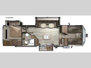 Open Range Light LF295FBH Floorplan Image