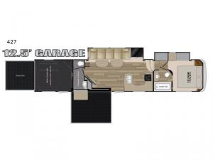 Road Warrior 427 Floorplan Image