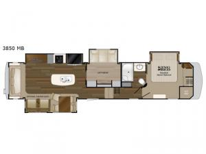 Big Country 3850 MB Floorplan Image