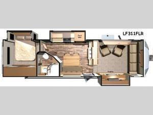 Open Range Light LF311FLR Floorplan Image