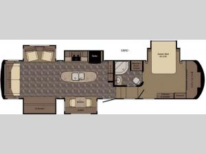 Redwood 38RD Floorplan Image