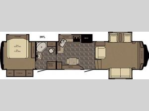 Redwood 39FL Floorplan Image