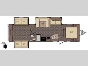 Longhorn LHT32DB Texas Edition Floorplan Image