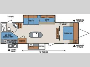 Spree Connect C291IKS Floorplan Image