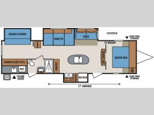 Spree Connect C322IKS Floorplan Image