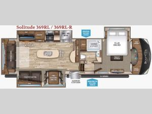 Solitude 369RL Floorplan Image