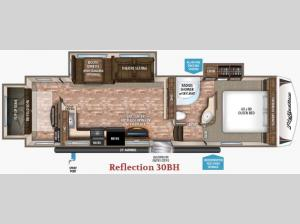 Reflection 30BH Floorplan Image