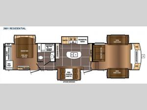 Sanibel 3901 Floorplan Image