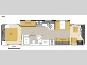 Sportscoach Cross Country SRS 361BH Floorplan Image