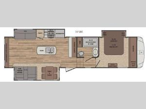Sabre 315RE Floorplan Image