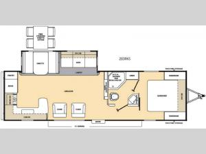 Catalina 283RKS Floorplan Image