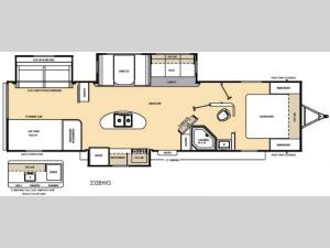 Catalina 333BHKS Floorplan Image