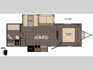 Sunset Trail Grand Reserve ST26BB Floorplan Image