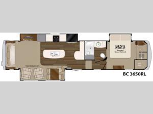 Big Country 3650 RL Floorplan Image