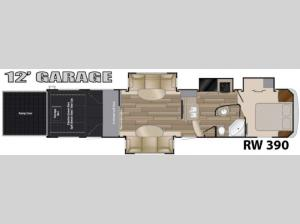 Road Warrior 390 Floorplan Image
