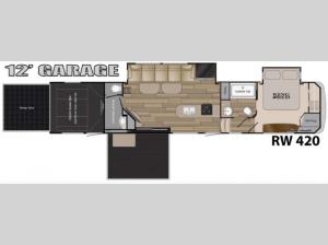 Road Warrior 420 Floorplan Image