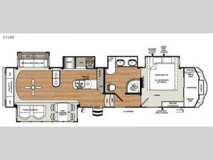 Sandpiper 355RE Floorplan Image
