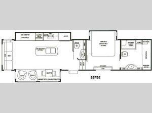 RiverStone 38FB2 Floorplan Image