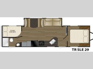 Trail Runner SLE 29 Floorplan Image