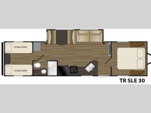 Trail Runner SLE 30 Floorplan Image