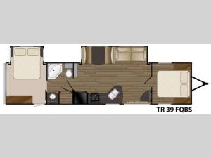 Trail Runner 39FQBS Floorplan Image