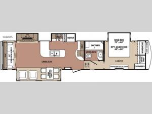 Blue Ridge 3600RS Floorplan Image