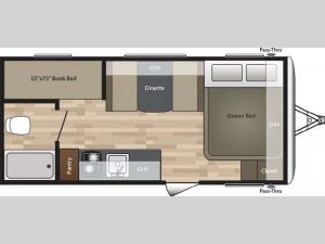 Summerland Mini 1800BH Floorplan Image