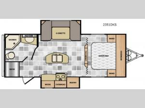 Minnie 2351 DKS Floorplan Image