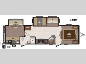 Sprinter Campfire Edition 31BH Floorplan Image