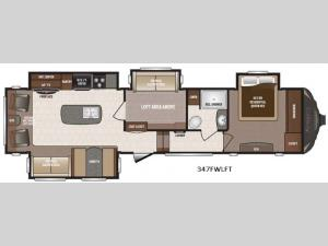 Sprinter 347FWLFT Floorplan Image