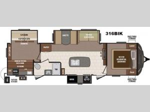 Sprinter 316BIK Floorplan Image
