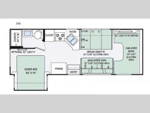 Four Winds 26A Floorplan Image