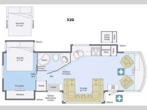 Adventurer 32D Floorplan Image