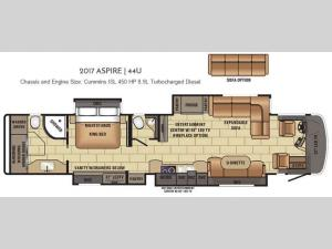 Aspire 44U Floorplan Image