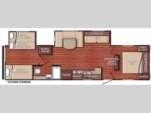 Kingsport 32TBSE SE Series Floorplan Image