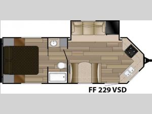 Fun Finder XTREME LITE F-229VSD Floorplan Image