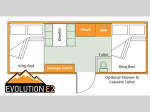 Somerset Evolution E2 Tray Floorplan Image